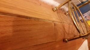 Water Damaged Wood Floor Repair