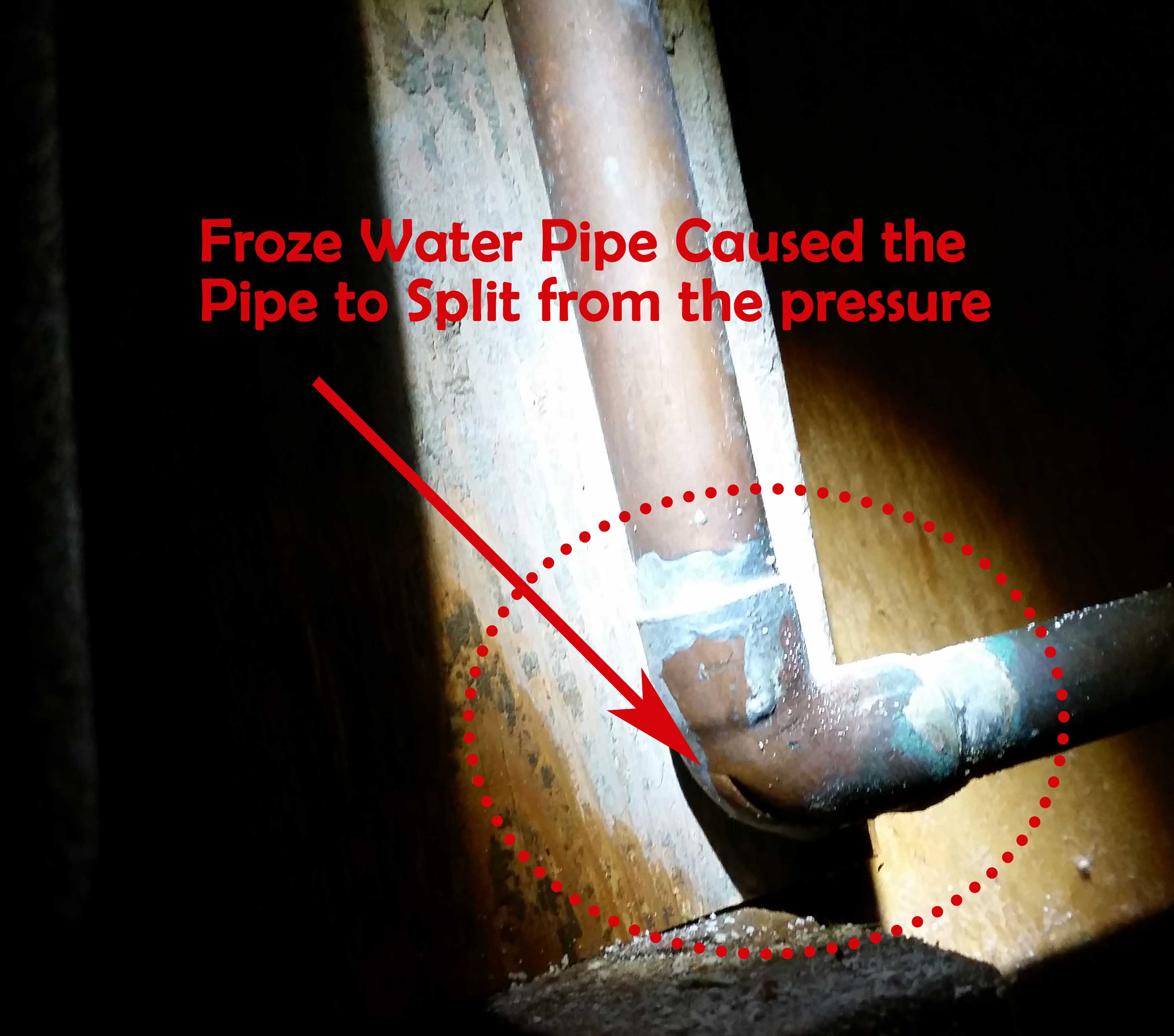 Rebuilding After Water Damage From Frozen Water Pipes