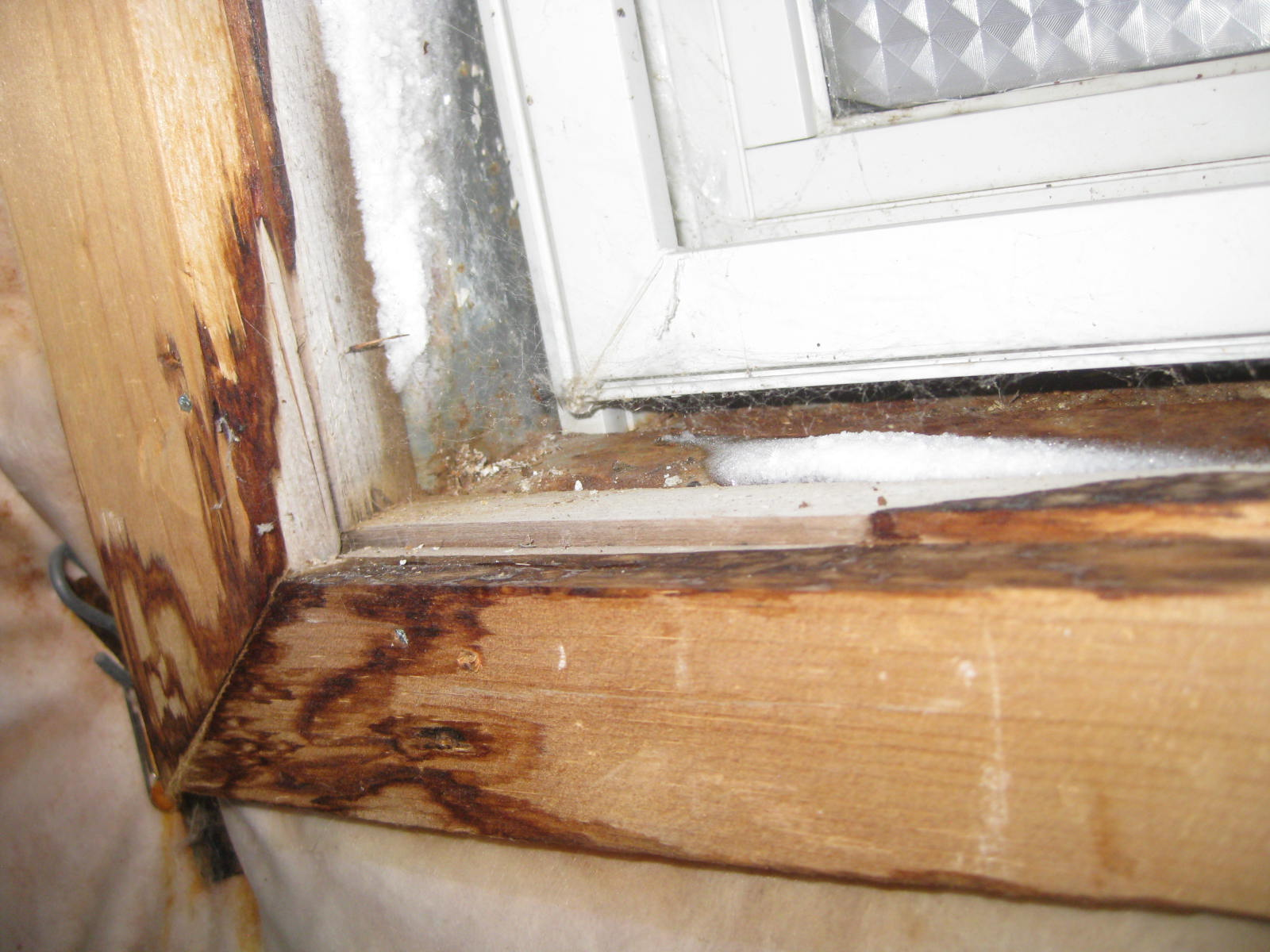 Water Damaged Wood Floor Repairs And The Open Window