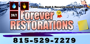 Forever Restorations provides water damage restoration in Wauconda and Island Lake